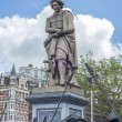 Rembrandt statue in Amsterdam, Netherlands — Stock Photo #66194831