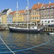 Nyhavn colorful buildings at Copenhagen — Stock Photo #69458213