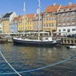 Nyhavn colorful buildings at Copenhagen — Stock Photo #69458213