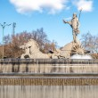 Fountain of Neptune in Madrid, Spain. — Stock Photo #69478289