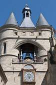Grosse Cloche door at Bordeaux, France — Stock Photo