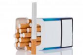 Box of cigarettes — Stock Photo