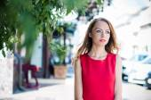 Retrato de una mujer de negocios — Foto de Stock
