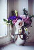 Home floral decor — Stock Photo