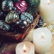 Christmas decorations — Stock Photo #57219859