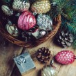 Christmas decorations — Stock Photo #57219963