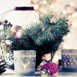 Vintage Christmas decor — 图库照片 #57220267