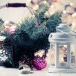 Vintage Christmas decor — Stock Photo #57220353