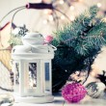 Vintage Christmas decor — Stock Photo #57220459