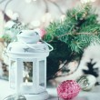 Vintage Christmas decor — Stock Photo #57220497