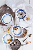 Rustic food — Stock Photo