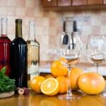 Three bottles of wine — Stock Photo #70725293