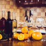 Three bottles of wine — Stock Photo #70725697