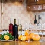 Three bottles of wine — Stock Photo #70726671