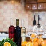 Three bottles of wine — Stock Photo #70726819