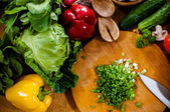 Homemade food preparation — Stock Photo