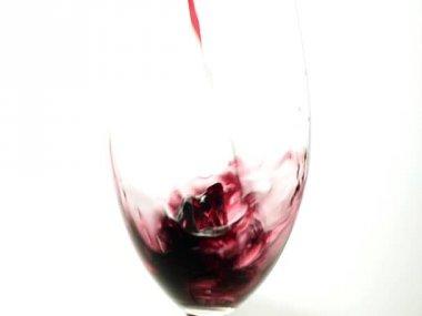 Rode wijn — Stockvideo