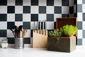 Kitchen utensils — Stock Photo