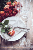 Tisch dekor — Stockfoto