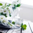Summer wedding table decoration — Stock Photo #76045711