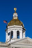 Concord New Hamshire Capitol Dome — Stock Photo