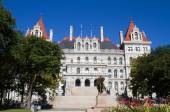 Albany New York State Capitol Building — Stock Photo
