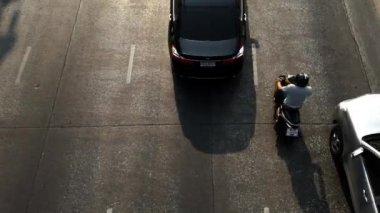 バンコクの道路交通 — ストックビデオ