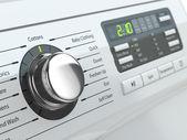 Control panel of washing machine. — Stock Photo
