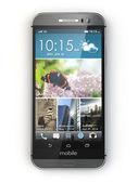 Smartphone, mobile phone on white isolated background. — ストック写真