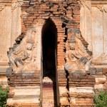 Ruins of ancient Burmese Buddhist pagodas — Stock Photo #53812219
