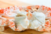 Fresh boiled and dressed crabs  — Stock Photo