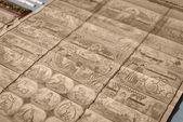 Bamboo wooden slips — Stock Photo