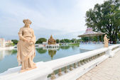 Statue in classical style in royal palace — Stock Photo
