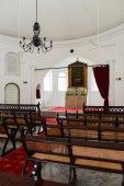 Interior igreja pequena — Fotografia Stock