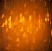 Abstract christmas lights on background — Stock Photo