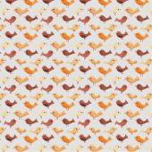 Watercolor birds seamless pattern — Stock Vector