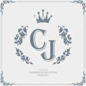 Wedding day Invitation card — Stock Vector