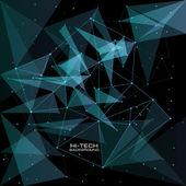 Futuristic user interface — Stock Vector