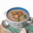 Mushroom cream soup — Stock Photo #65785471