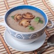 Mushroom cream soup — Stock Photo #65785527