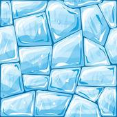 Blue ice seamless pattern — Stockvektor