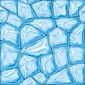 Blue ice seamless pattern — Vettoriale Stock