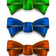 Collection bows — Vetor de Stock  #60202857