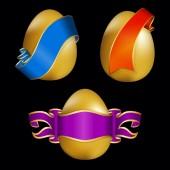 El huevo de pascua — Vector de stock