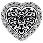 Valentine Day tatto heart — Stock Vector #61468799