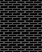 Metal grid seamless pattern — Stock Vector