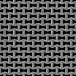 Metal grid seamless pattern — Stock Vector #65443331