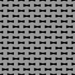 Metal grid seamless pattern — Stock Vector #66347075