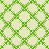 Green seamless pattern — Stock Vector