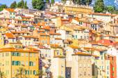 Buildings in Menton, South of France — Stock Photo